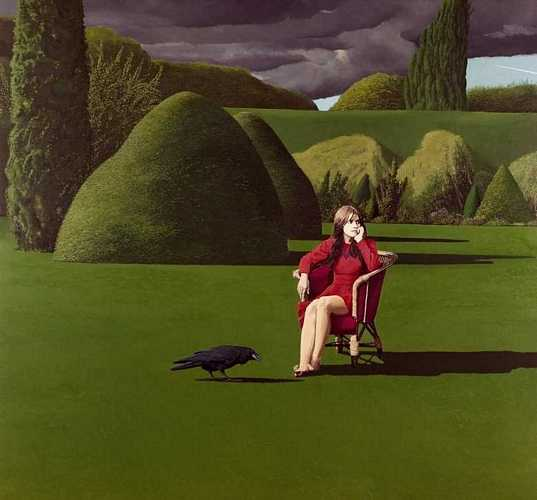 DAVID INSHAW The Raven, 1971