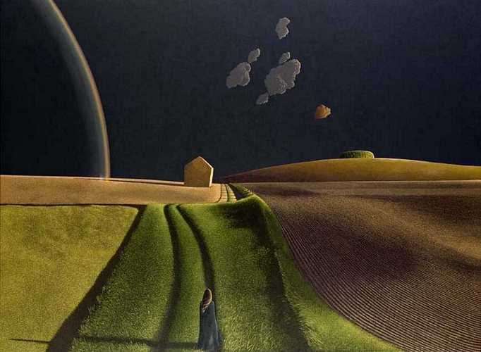 DAVID INSHAW She did not turn, 1974