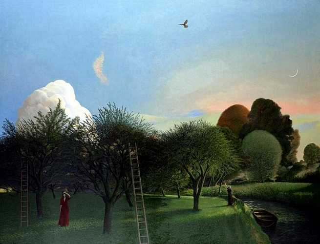 DAVID INSHAW The Orchard, 1977