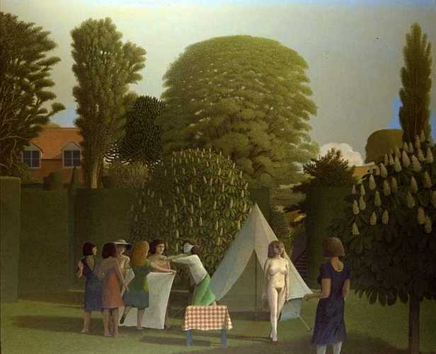 DAVID INSHAW The Garden, or the Game of Blind Man's Buff, 1982-84
