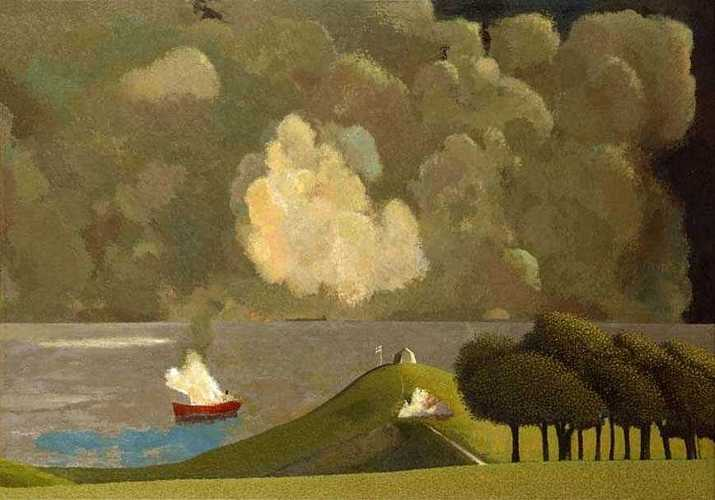 DAVID INSHAW A Dramatic Incident off the Dorset Coast, 1984