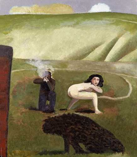 DAVID INSHAW Figures in a Landscape, 1985