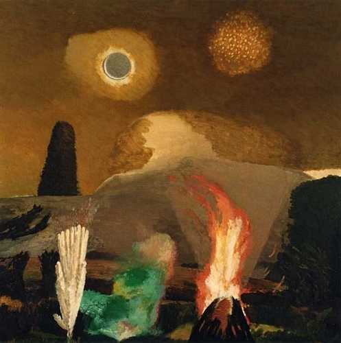 DAVID INSHAW Bonfire Night, Hay Bluff I, 1992