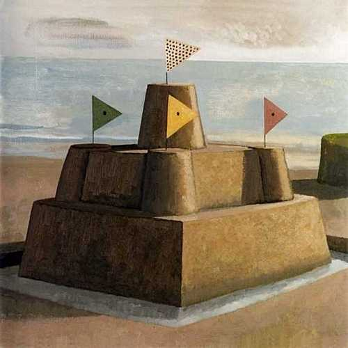 DAVID INSHAW Sandcastle, 1992