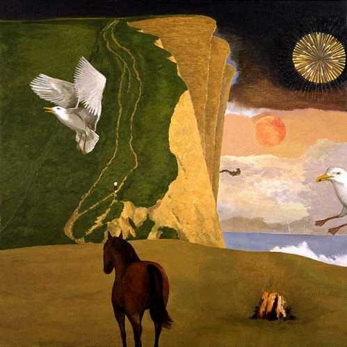 DAVID INSHAW West Bay with Seagull and Horse, 2000-02