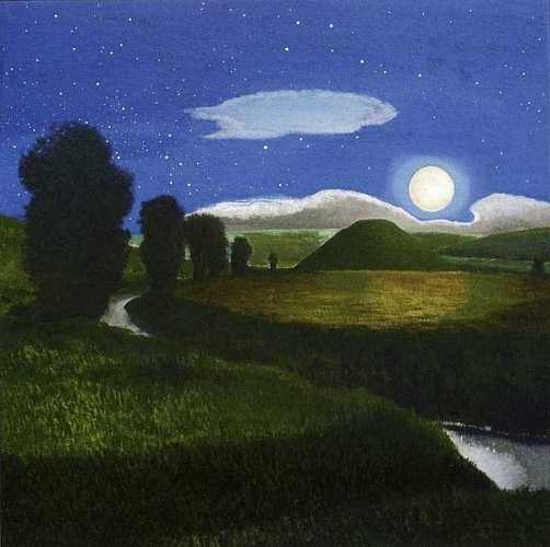 DAVID INSHAW Silbury Hill in the Moonlight, 2008