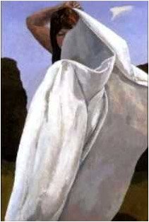 DAVID INSHAW Towel II, 1992-94